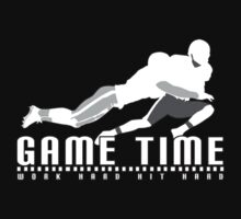Game Time - Tackle (Black) Kids Clothes