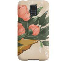Peonies Samsung Galaxy Case/Skin