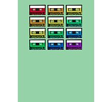 Cassette Rainbow Photographic Print