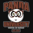 Panda University - Brown 2 by Adamzworld