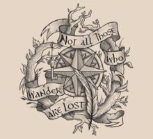 """""""Not all those who wander are lost"""" T-Shirt"""