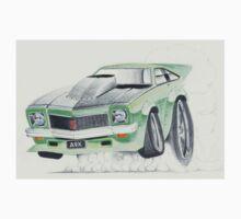 Holden Torana A9X-Burnout by Glens Graphix Kids Clothes