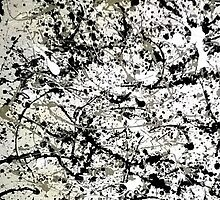 inspired by Mr Pollock by GinasFineArt