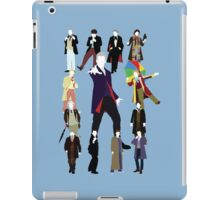 All Thirteen! (Version 2) - Doctor Who iPad Case/Skin