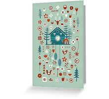Cuckoo Clock Greeting Card