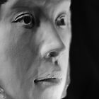 Belinda's Clay Sculptured Head  by Mick Kupresanin
