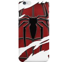 Spider inside red suit ripped torn iPhone Case/Skin