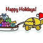 A Tortoise Christmas - Happy Holidays (Gift Design) by Iceyuk