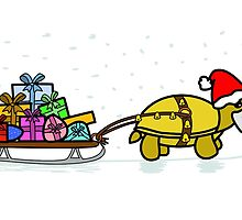 A Tortoise Christmas - BLANK (Gift Design) by Iceyuk