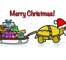 A Tortoise Christmas - Merry Christmas (Gift Design) by Iceyuk