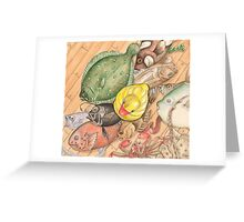 Duck on Deck Greeting Card