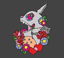 Hippie Totoro by foureyedart