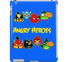 angry heroes iPad Case/Skin