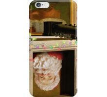 Time Transfixed for Santa Claus iPhone Case/Skin