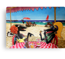 The Dolphin Shack Canvas Print