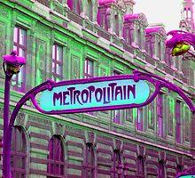 Metro in Paris by Eleni Avraam