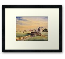 St Andrews Golf Course Scotland Framed Print