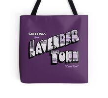 Greetings from Lavender Town Tote Bag