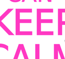 I can't keep calm, I am getting married Sticker