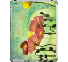 Poppy iPad Case/Skin