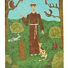 Saint Francis of Assisi by DebiCady