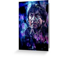 The Second Doctor Greeting Card