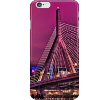 Zakim bridge, Boston MA iPhone Case/Skin