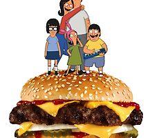 Bob's Burgers by dienael