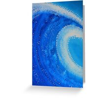 Barreled original painting Greeting Card