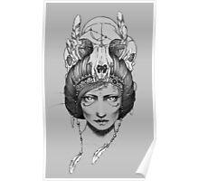 Skull Queen  Poster