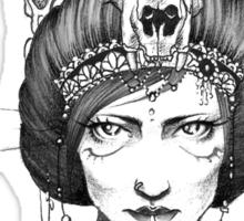 Skull Queen  Sticker