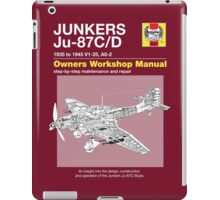Junkers Ju-87 Owners Workshop Manual iPad Case/Skin