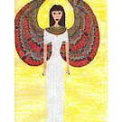 Ancient Egyptian Angel  by DebiCady