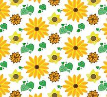 Sunflower Pattern by Kat Elberti