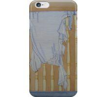 Humorous still life art of nightie the dog tore  iPhone Case/Skin
