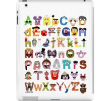 Sesame Street Alphabet iPad Case/Skin