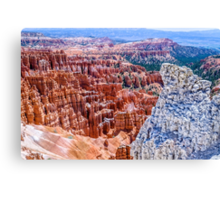 Colorful Bryce Canvas Print