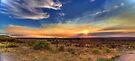 Smoky Sunset by njordphoto