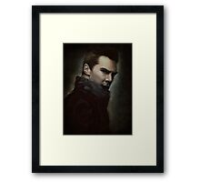 into darkness Framed Print