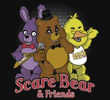 Freddy scare bear by TeeKetch