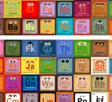 Periodic Table of the Muppets Sticker