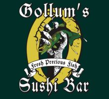 LOTR - Gollums Sushi Bar - Fresh Precious Fish by SatiricalStylez