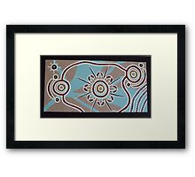 Ceremony of Initiation Framed Print