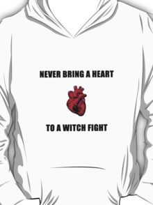 Witch Fight Heart T-Shirt