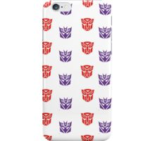 Choose Your Side - Autobot vs Decepticon iPhone Case/Skin