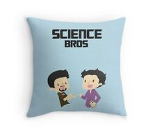 Tony & Bruce Throw Pillow