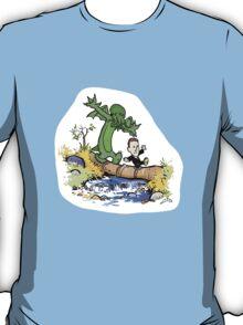 H.P. and Cthulhu T-Shirt