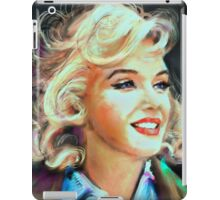 Marilyn Blue iPad Case/Skin