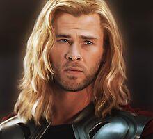 Thor by LindaMarieAnson