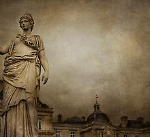 Luxembourg Gardens, Paris by CarrieAnnKouri